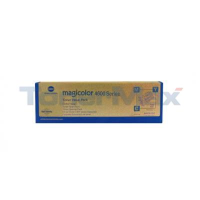 KONICA MINOLTA MAGICOLOR 4650DN TONER CTG CMY